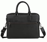 Портфель Bexhill M47-22168-1A кожаный Черный
