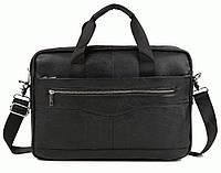 Портфель Bexhill Bx1128A кожаный Черный