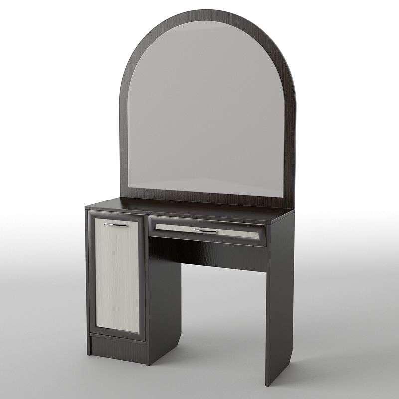 Туалетний будуарний столик з ДСП/МДФ в спальню БС-36 Тіса меблі