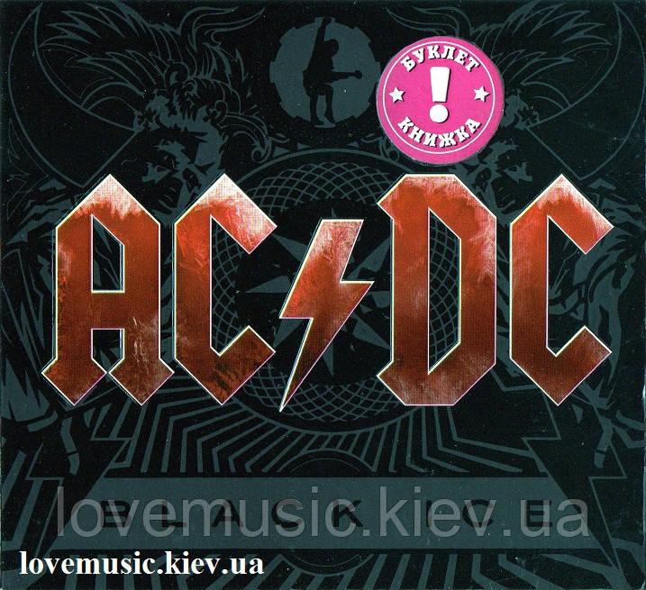 Музичний сд диск AC/DC Black ice (2008) (audio cd)