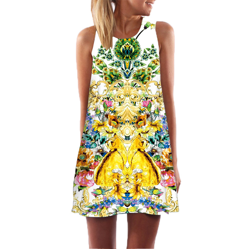 Женское пляжное платье размер 46 (L) РМ-7322-00