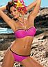Шикарный купальник-бандо M 193 ANDREA (размеры XL-3XL/XL в расцветках), фото 6