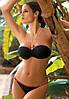 Шикарный купальник-бандо M 193 ANDREA (размеры XL-3XL/XL в расцветках), фото 3