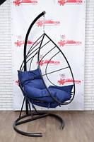 Купити крісло качалку в стилі лофт підвісне