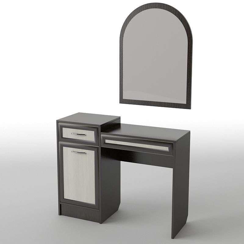 Туалетний будуарний столик з ДСП/МДФ в спальню БС-6 Тіса меблі