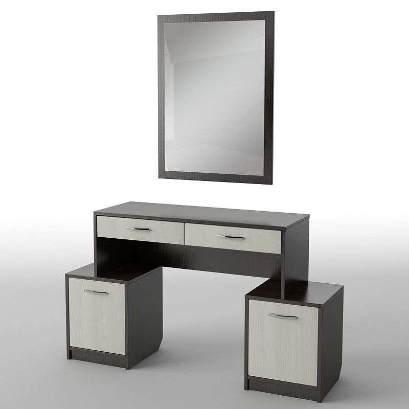 Туалетний будуарний столик з ДСП/МДФ в спальню БС-13 Тіса меблі