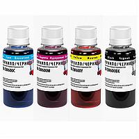 Комплект чернил colorway epson xp103/600 4x100мл bk/С/m/y (cw-ew610set01)