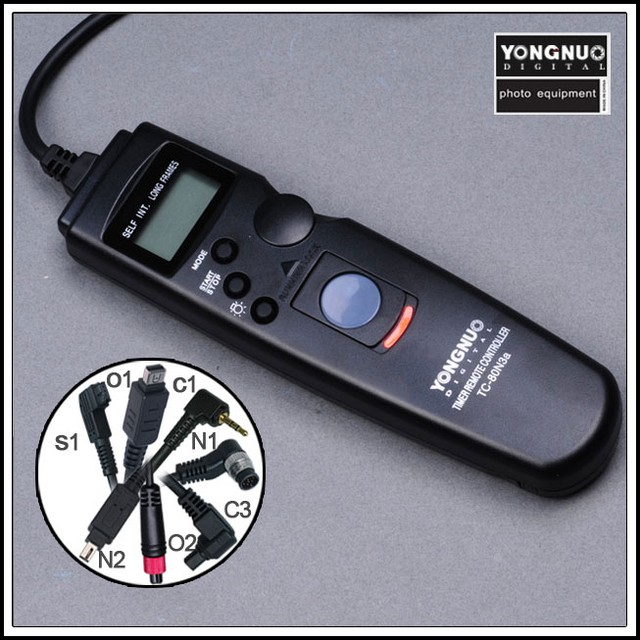 Электронный тросик-таймер Yongnuo TC-80 C3