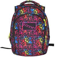 Школьный рюкзак для девочки Winner Stile, сиреневый