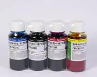 Комплект чернил colorway canon pg-510/cli-521 4х100 мл bk/С/m/y (cw-cw520/521set-01)