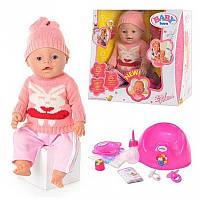 Кукла Baby born 8001 K c аксессуарами