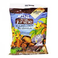 Печенье с шоколадом Mini Jungle Bio Ania 100г
