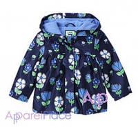 Gymboree Куртка для девочки на флисе, Floral