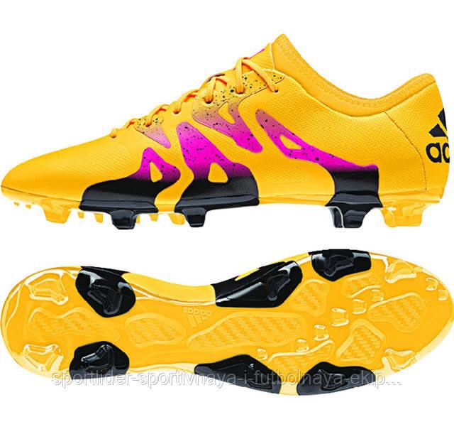 bb6e3fb3 Футбольные бутсы Adidas X 15.2 FG/AG S74672 , цена 2 400 грн., купить в  Киеве — Prom.ua (ID#556117253)