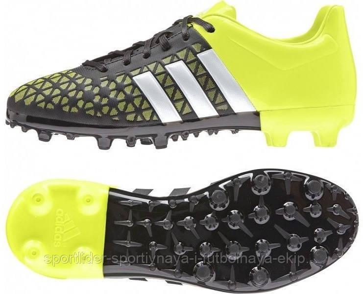 d0436902 Детские футбольные бутсы Adidas ACE 15.3 FG/AG B32842 - Спортлидер›  спортивная и футбольная