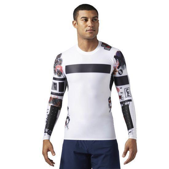 Компрессионная футболка с длинным рукавом Reebok CrossFit BS1586 - Интернет  магазин Tip - все типы товаров a294f542cc2a4