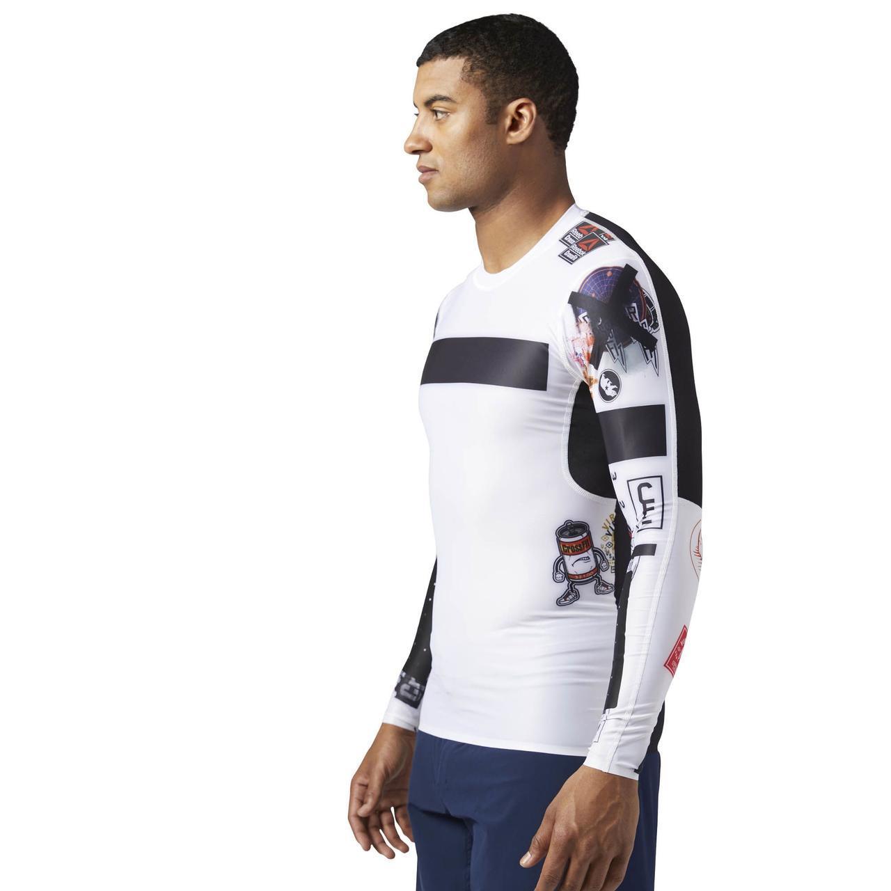 Компрессионная футболка с длинным рукавом Reebok CrossFit BS1586 ... ddf7eae46e0b6