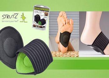 Мягкие стельки от боли для ног Strutz ZX, фото 1