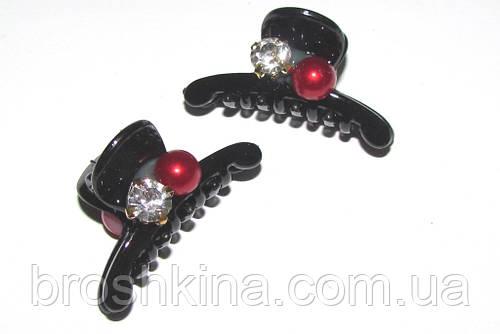 00213e5943f2 Крабик для волос пластик со стразами L 4 см