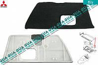 Внутренняя обшивка / накладка / крышка багажника левая MR402038 Mitsubishi PAJERO IV 2006-