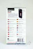 Чехол Macally Flexible Case Apple iPhone 5, iPhone 5S, iPhone SE Transparent (FLEXFITC-P5)