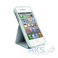 Чехол Macally Flip Case W. Rotatable Stand Apple iPhone 5, iPhone 5S, iPhone SE Blue (SSTANDBL-P5)