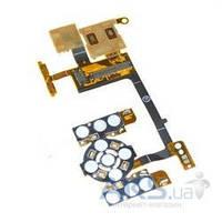Шлейф Sony Ericsson W580i / S500i с клавиатурным модулем, камерой и коннектором SIM Original