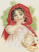 Схема для вышивки бисером Красная шапочка, фото 2