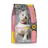 Корм Nutram S7 Sound Balanced Wellness Small Breed Adult Dog для собак мелких пород, 2,72 кг