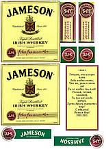 Вафельная картинка Виски Jameson