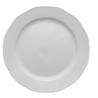 Тарелка обеденная 240мм Lubiana MERKURY 734