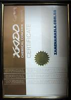 Мы zamenamasla.com.ua являемся авторизированным местом продажи продукции химического концерна XADO. Сертификат даёт Вам уверенность в оригинальности и качестве продаваемой у нас продукции химического концерна XADO.