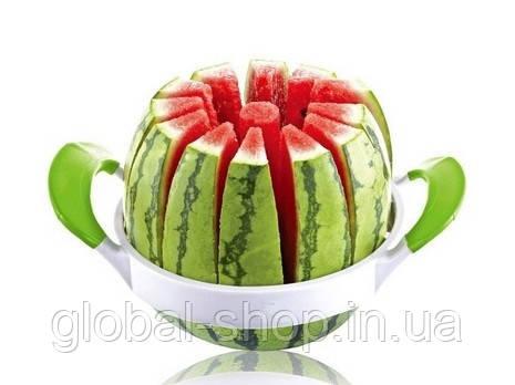 Нож-слайсер для нарезки дыни и арбуза на 12 долек Melon Slicer