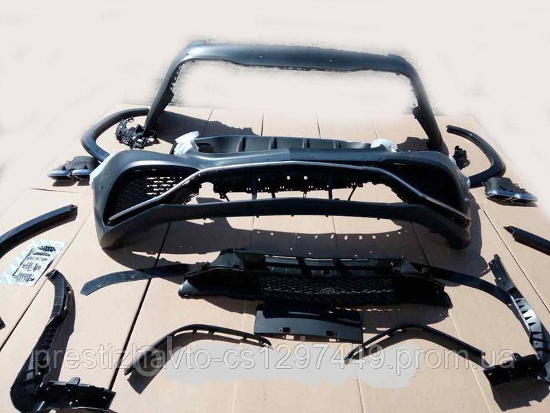 Комплект обвеса GLS63 AMG на Mercedes GLS-Class X166