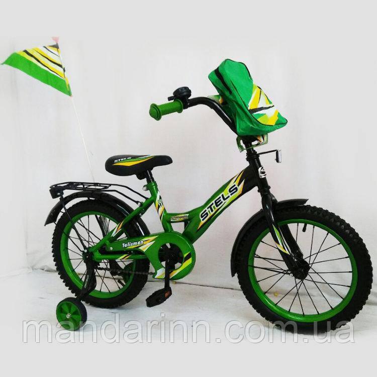 """Велосипед детский Stels Pilot 100, 18 дюймов. Green. - Интернет-магазин """"MagShop"""" в Одессе"""