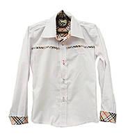 Стильная рубашка для мальчика в школу. 128-152.