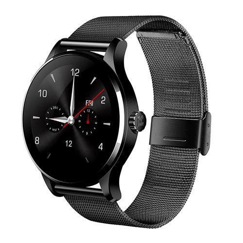 Умные часы SmartWatch Makibes K88H HD IPS экран, 2.5D  Black(черный)