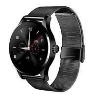 Умные часы SmartWatch Makibes K88H HD IPS экран, 2.5D  Black(черный), фото 1