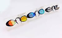 Очки для плавания стартовые Arena 92399 Swedix Mirror: поликарбонат, TPR, резина + 3 цвета