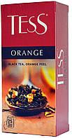 """Чай черный Tess """"Оранж"""" пакетированный 5г/25п."""