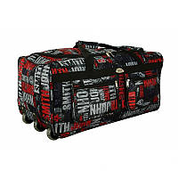 Большая дорожная сумка на колесах обьем 110 л kolor 1