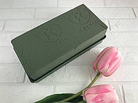 Флористическая пена (губка,оазис) для цветов 23/10.5/7 см