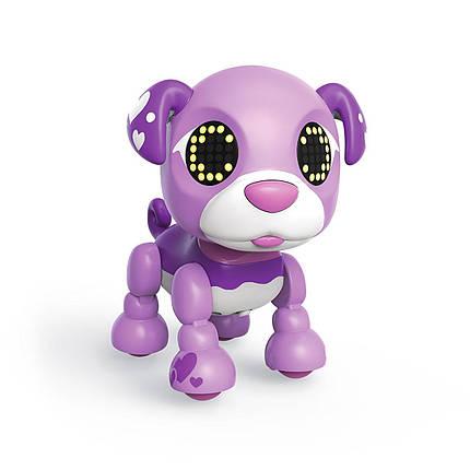 Zoomer Zupps Tiny Pups Pug Biscuit Interactive Puppy Интерактивный щенок-робот Заппи Мопс Бисквит, фото 2