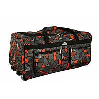 Большая дорожная сумка на колесах обьем 110 л kolor 6