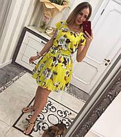 Красивое атласное платье с подъюбником в комплекте. Расцветки