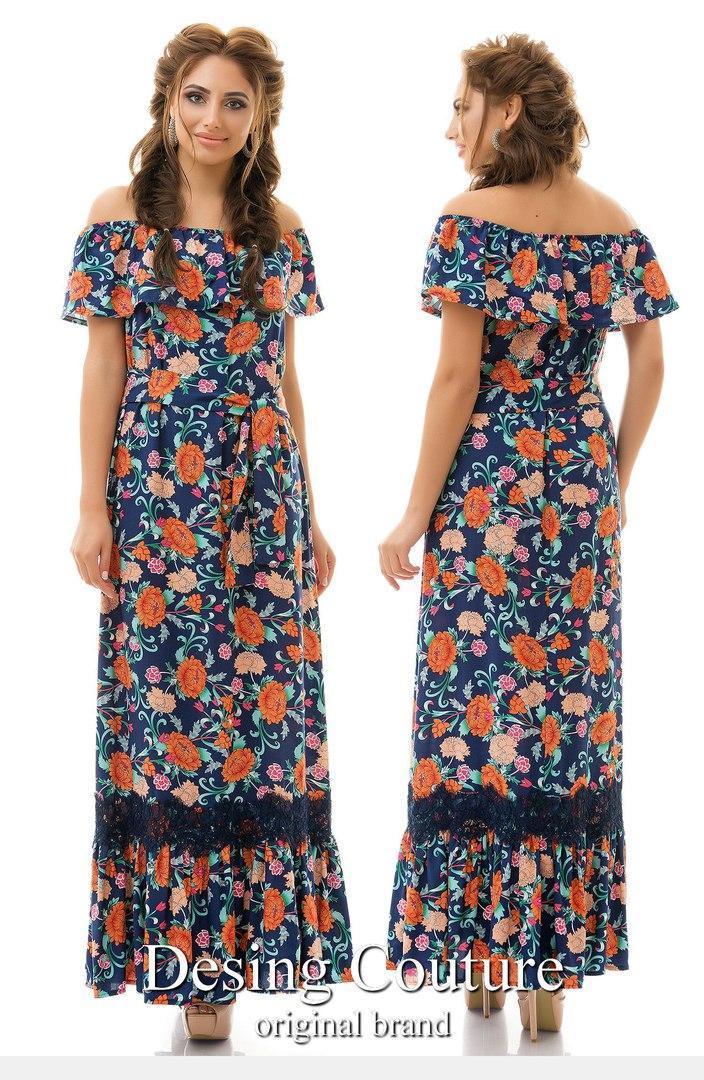 32e7b9fcc67 Штапельное платье в пол - Онлайн 24 - Женская одежда. в Одессе