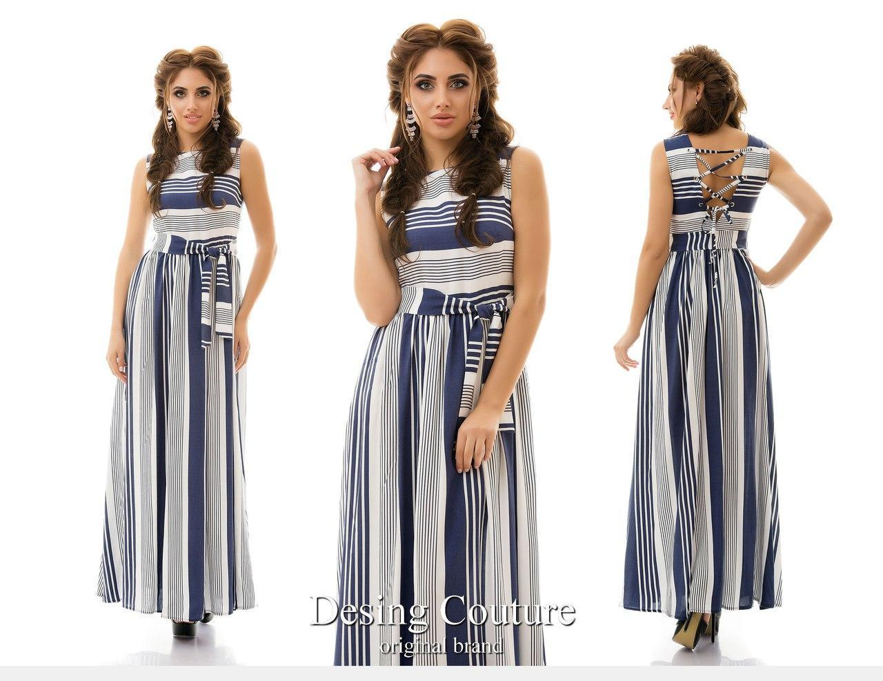 8dac55c8ec4 Штапельное платье в пол со шнуровкой - Онлайн 24 - Женская одежда. в Одессе