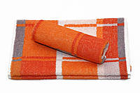 Полотенце.25*48 оранжевый