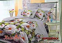 Двуспальный набор постельного белья 180*220 из Полиэстера №85002 KRISPOL™
