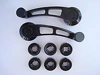 Универсальные автомобильные ручки стеклоподъёмника чёрные MG 3006